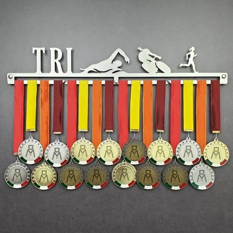 MEDALdisplay Triathlon - Femminile