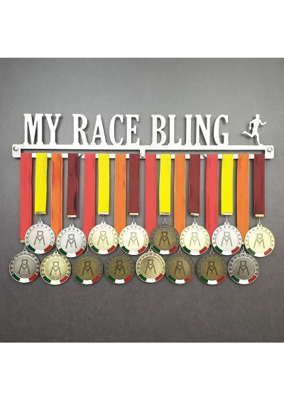 MEDALdisplay MY RACE BLING | MALE