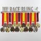 MEDALdisplay MY RACE BLING | MALE