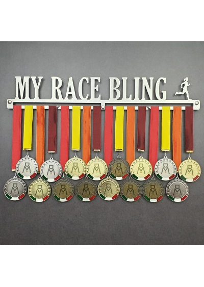 MEDALdisplay MY RACE BLING | FEMALE