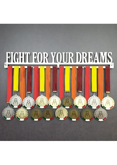 MEDALdisplay FIGHT FOR YOUR DREAMS