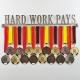 MEDALdisplay HARD WORK PAYS