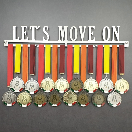 MEDALdisplay LET'S MOVE ON