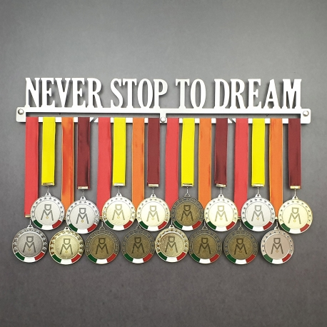 MEDALdisplay Never stop to dream