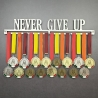 MEDALdisplay Never give up